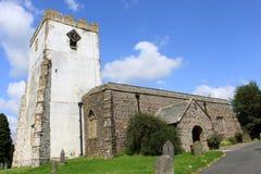 Toda la iglesia parroquial Orton Cumbria de los santos Imagen de archivo libre de regalías