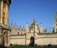 Toda la Universidad de Oxford de la universidad de las almas Fotografía de archivo libre de regalías