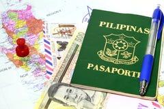 Toda sobre Manila imagens de stock