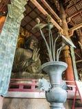 Todai籍,奈良伟大的菩萨雕象  免版税图库摄影