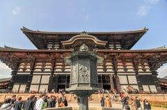 todai för japan jinara tempel Royaltyfria Bilder