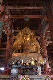 Todai-ji Świątynny Nara Japonia Obraz Stock