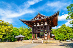 The Todai-ji Bell in Nara, Japan Stock Photography