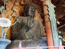 Todai-ji Buddha Arkivfoto
