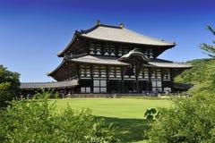 Todai-ji di Daibutsu Fotografia Stock Libera da Diritti