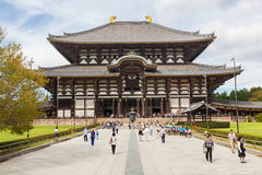 Todai-JI - grand temple oriental photographie stock