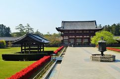 Todai-ji in Nara, Japan Stock Photography