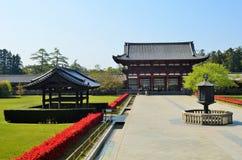 Todai-ji in Nara, Japan Stock Photography