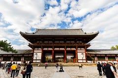 Todai-ji tempel Royaltyfri Foto