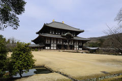 Todai-ji Temple Royalty Free Stock Images