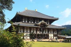 Todai-ji temple Royalty Free Stock Photo