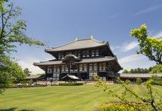 Todai-ji Temple in Nara, Japan Stock Photography