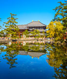 Todai-ji temple in Nara, Japan. Stock Images