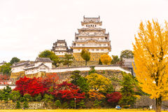 Himeji Castle, Japan. Stock Photo