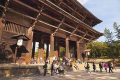 Todai-ji temple Stock Images