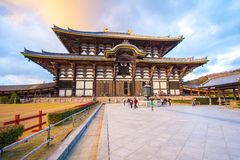 Todai-ji Temple in Nara, Japan. Royalty Free Stock Photo