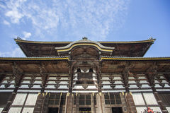 Todai-ji Temple. Nara. Japan Stock Image