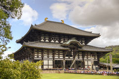 Todai-ji Temple in Nara, Japan Royalty Free Stock Images