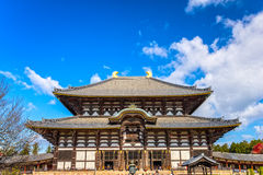 Todai-ji temple in Nara, Japan. Royalty Free Stock Photo