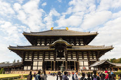 Todai-ji temple. Royalty Free Stock Images