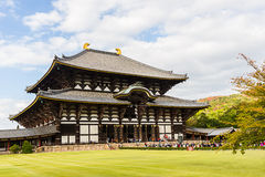 Todai-ji temple in Nara, Japan temple. Stock Photography