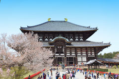Todai-ji Temple of Nara,Japan Royalty Free Stock Image