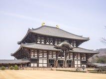 Todai ji temple Royalty Free Stock Photos