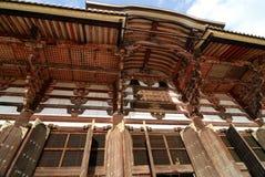 Todai-ji Temple wood Royalty Free Stock Photos