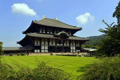Todai Temple Royalty Free Stock Photos