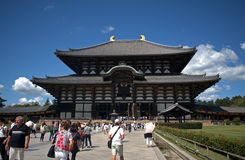 Todai Temple, Nara, Japan Royalty Free Stock Images