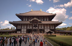 Todai Temple, Nara, Japan Royalty Free Stock Photography