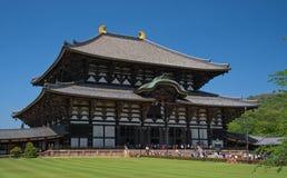 Todai-todai-ji ναός, Νάρα (Ιαπωνία) Στοκ φωτογραφία με δικαίωμα ελεύθερης χρήσης