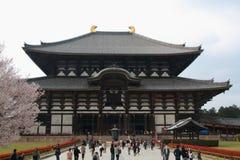 Todai -todai-ji Stock Afbeelding