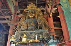 Todai -todai-ji in Nara, Japan Stock Afbeelding