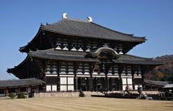 Todai van Nara Daibutsu ji Royalty-vrije Stock Foto