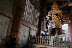 Todaiji寺庙在奈良-日本 图库摄影