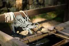 Todaiji寺庙在奈良-日本 免版税库存图片
