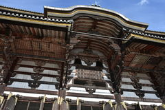 Todaiji寺庙奈良,日本 免版税图库摄影