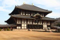 Todaiji寺庙 免版税库存图片