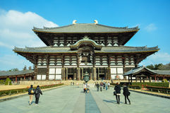 todaiji ναών της Ιαπωνίας Νάρα Στοκ εικόνες με δικαίωμα ελεύθερης χρήσης