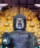 Todaiji Buddha front Stock Image