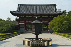 Todaiji Buddhist temple Nara Japan Royalty Free Stock Image
