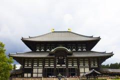 Todaiji buddhist temple in Nara, Japan Royalty Free Stock Photo