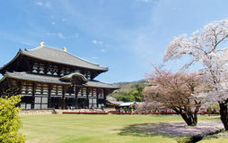 Todaiji Daibutsuden Royalty Free Stock Images