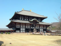 todaiji de temple Photographie stock