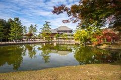 Todaiji Nara, Kyoto Royaltyfri Fotografi