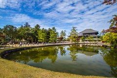 Todaiji Nara, Kyoto Arkivfoton
