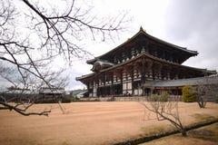 Todaiji tempel Royaltyfria Bilder