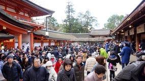 Todaiji Tempel in Nara Lizenzfreie Stockfotografie