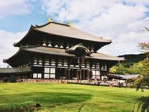 Todaiji tempel Nara Royaltyfria Bilder